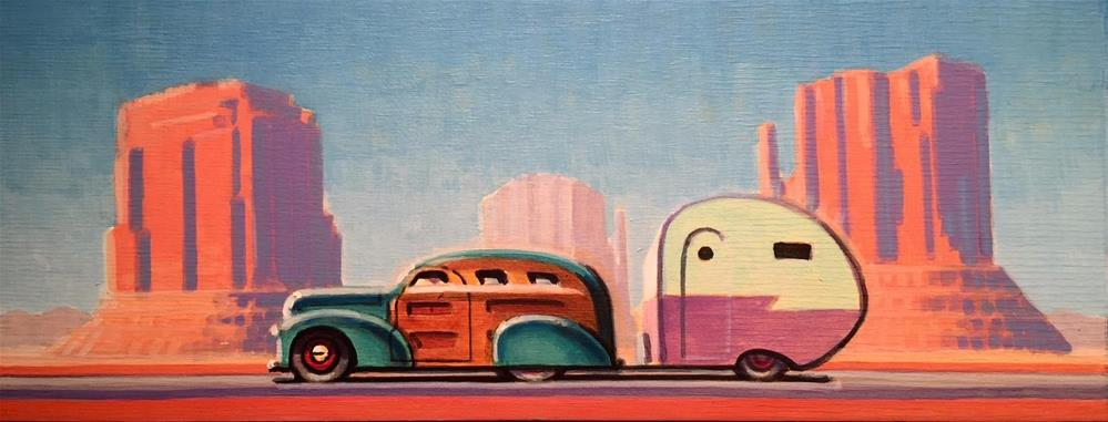 """Burning Daylight"" original fine art by Robert LaDuke"