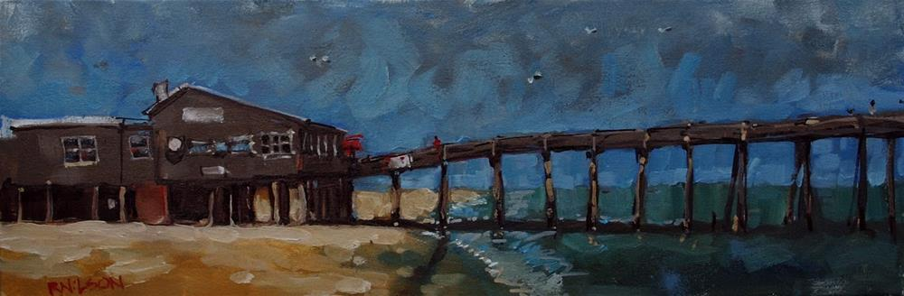 """The Long and Narrow Way"" original fine art by Rick Nilson"
