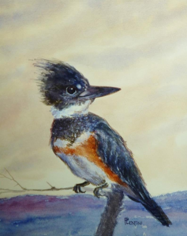 """Perched"" original fine art by Peter Lentini"