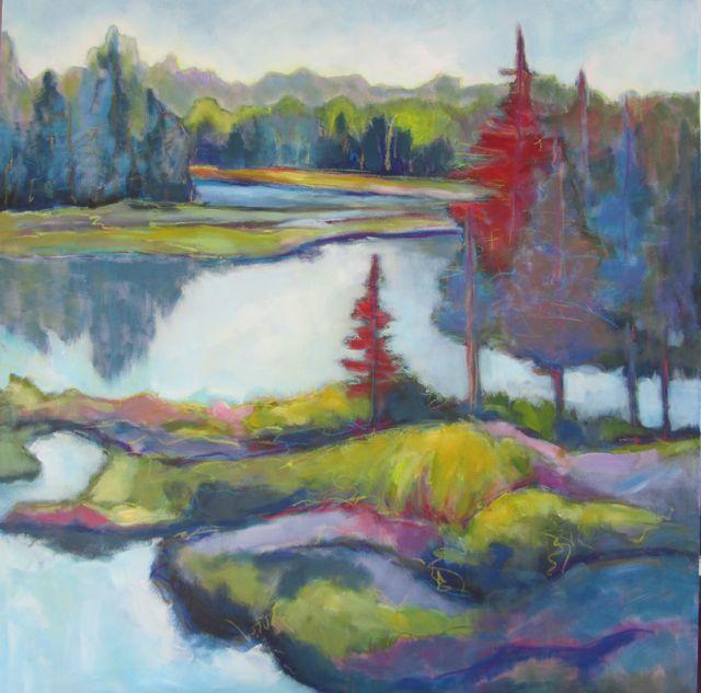 """Carpe Diem"" original fine art by Patricia MacDonald"