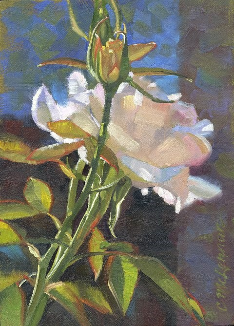 """Whisper of Angels"" original fine art by Connie McLennan"