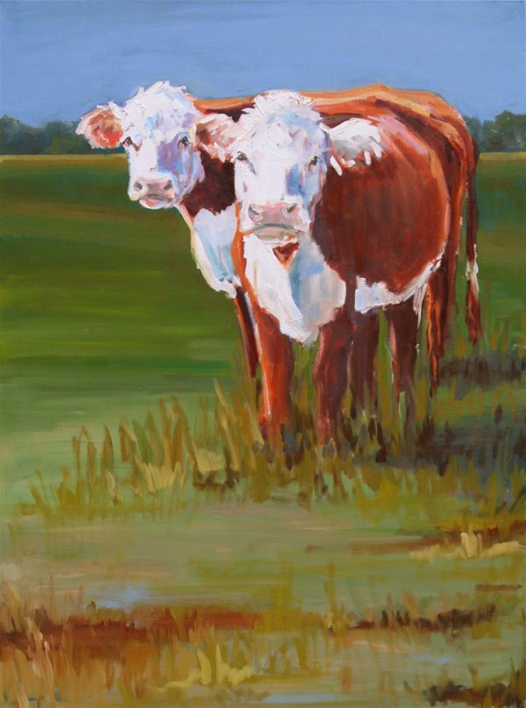 """double take"" original fine art by Carol Carmichael"