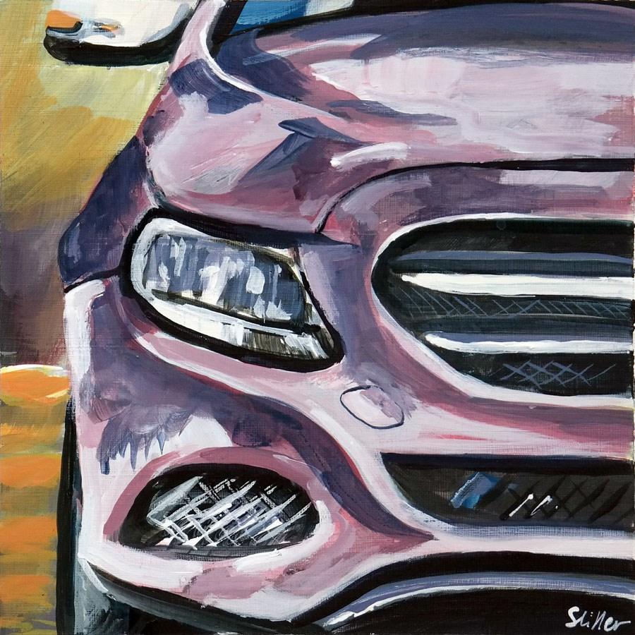 """""""1832 Mercedes Modern"""" original fine art by Dietmar Stiller"""