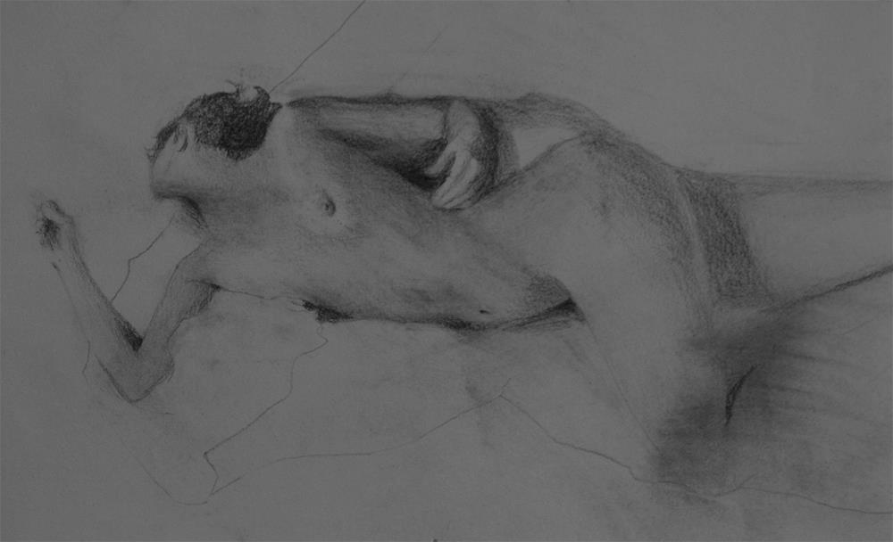"""""""Figure 1"""" original fine art by Sheila Marie"""