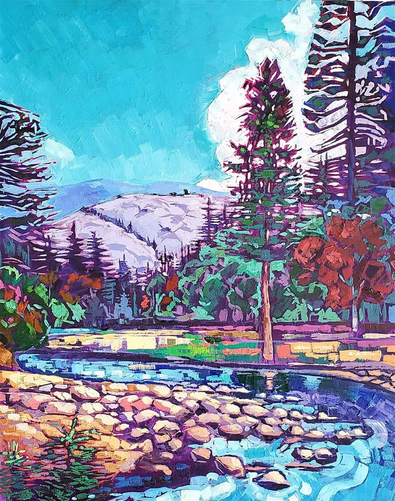 """Yosemite Calm"" original fine art by Bhavna Misra"