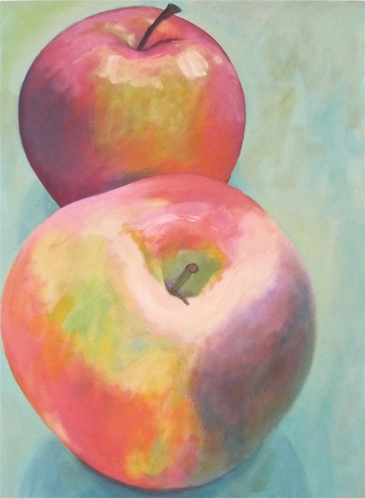 """Post Modern Apps II"" original fine art by Patricia MacDonald"