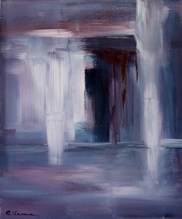 """""""Day 3 - Doorway"""" original fine art by Anna Vreman"""