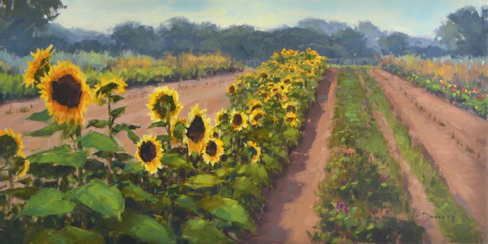 """Ready for Harvest - Radiant Group Show"" original fine art by Laurel Daniel"