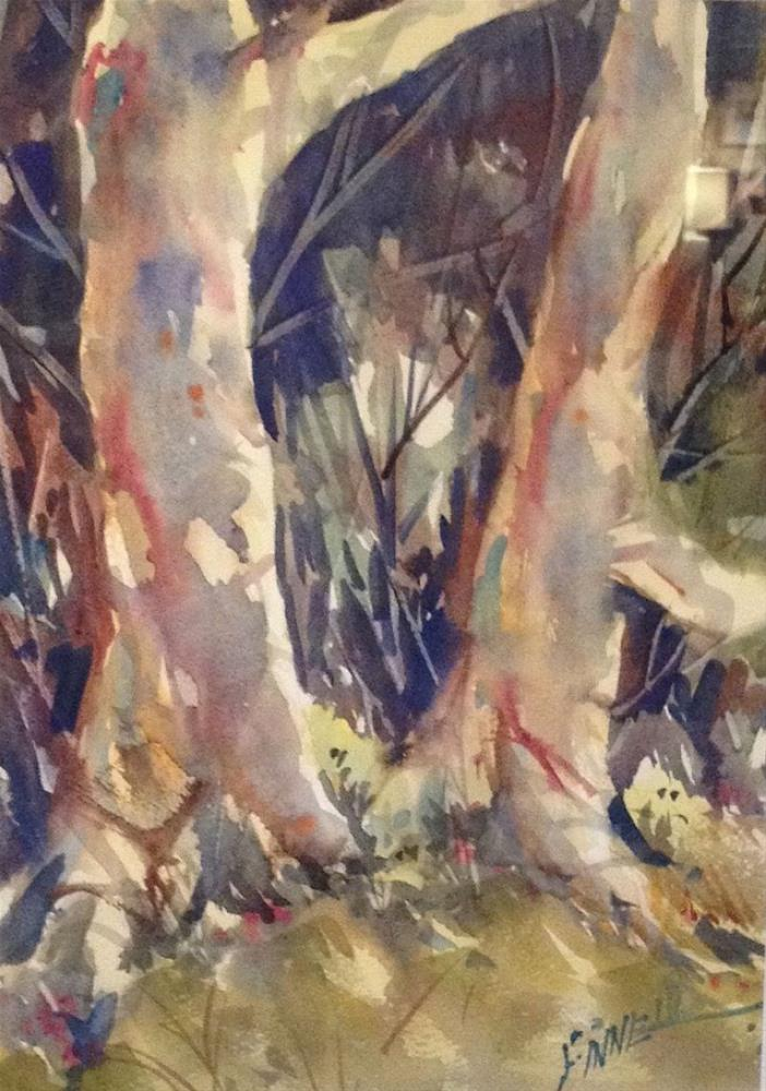 """Into the Woods"" original fine art by David Finnell"