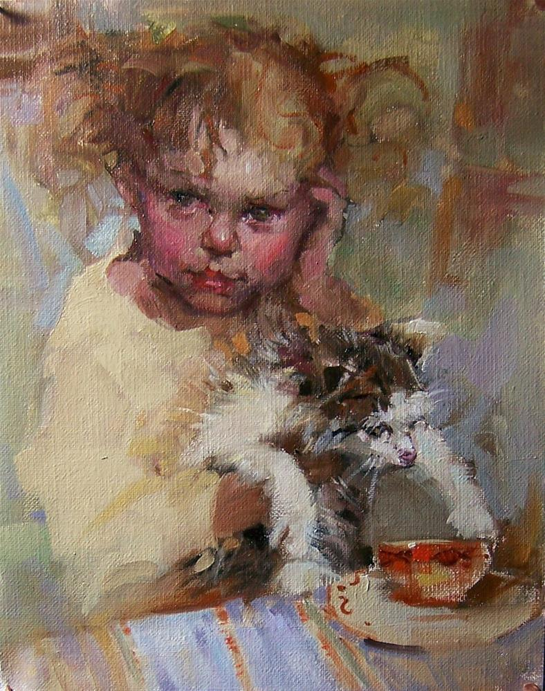 """Got Milk?"" original fine art by Kim Roberti"