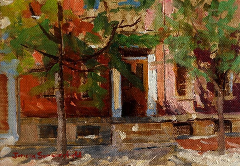"""North Side Facades"" original fine art by Jonelle Summerfield"