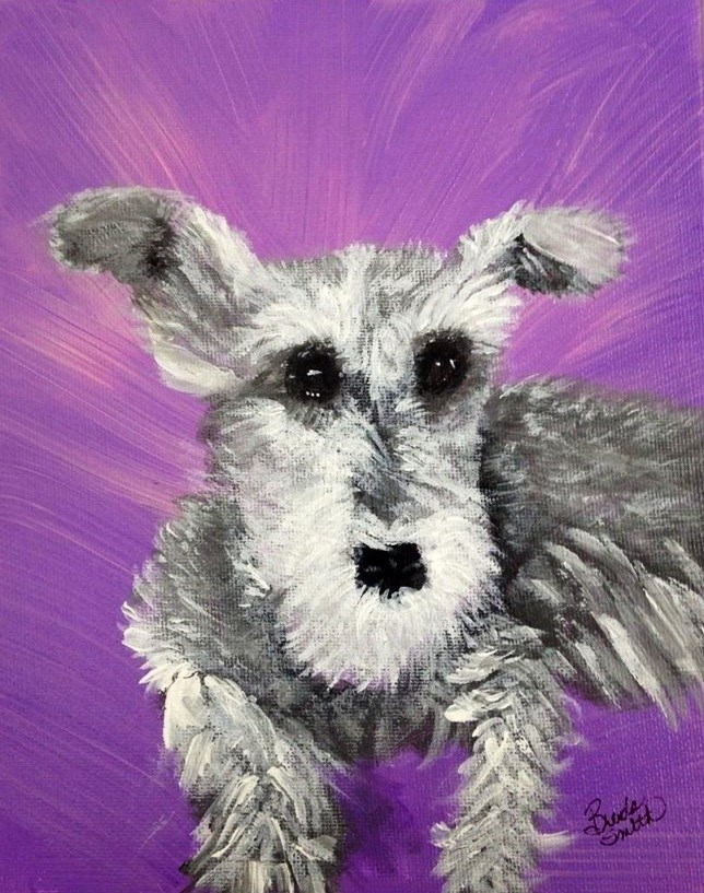 """Nellie"" original fine art by Brenda Smith"