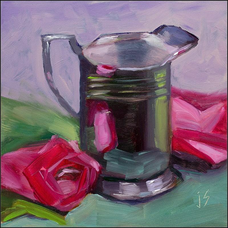 """""""Pretty in Pink"""" original fine art by Johnna Schelling"""