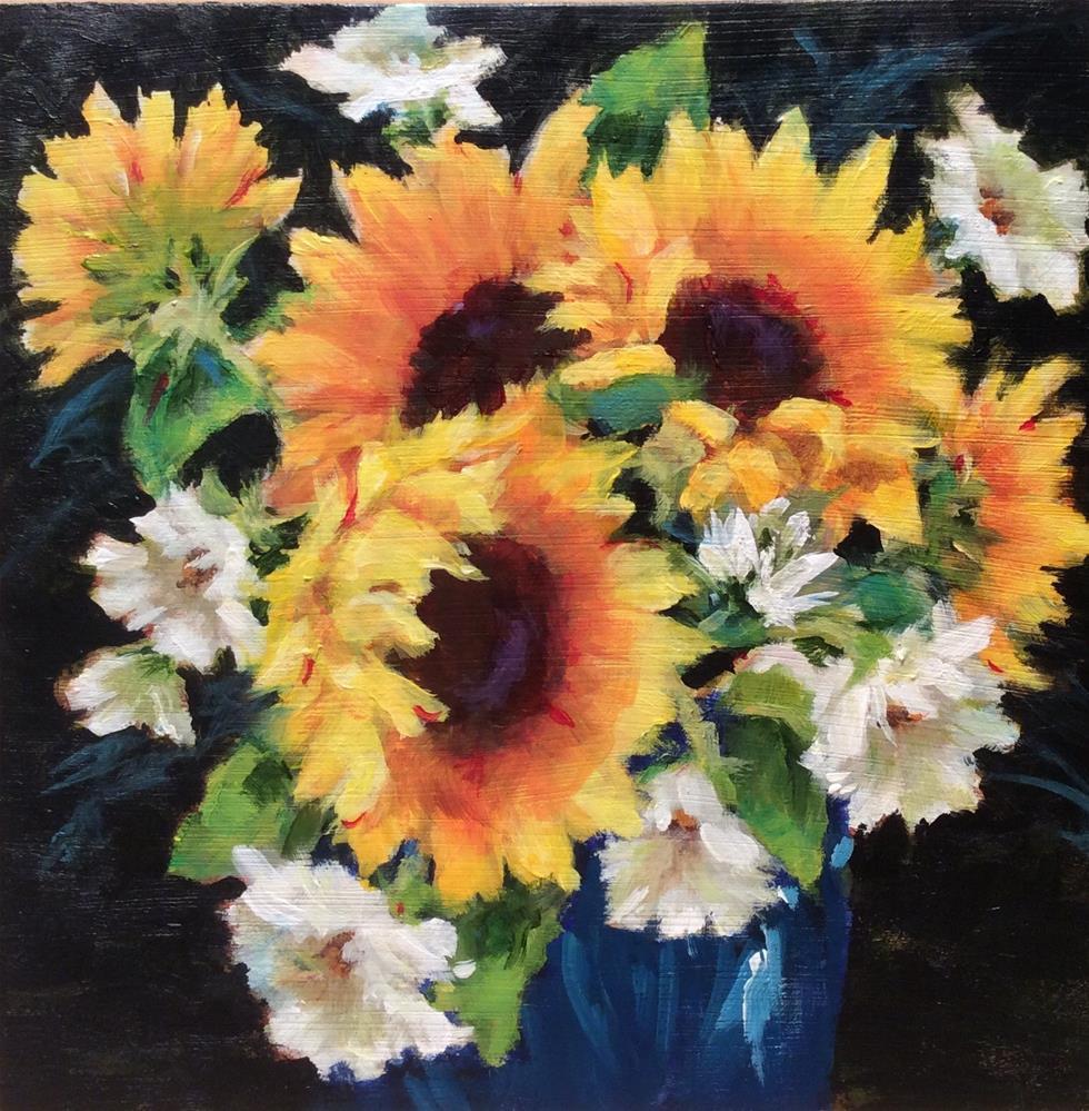"""""""Sunshine Glow"""" original fine art by wendy black"""