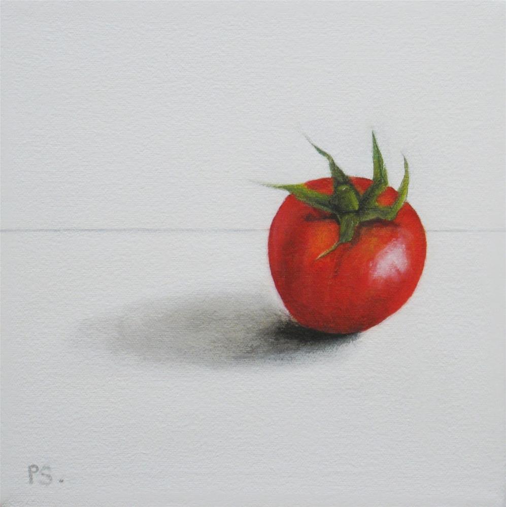 """Cherry Tomatoes III"" original fine art by Pera Schillings"