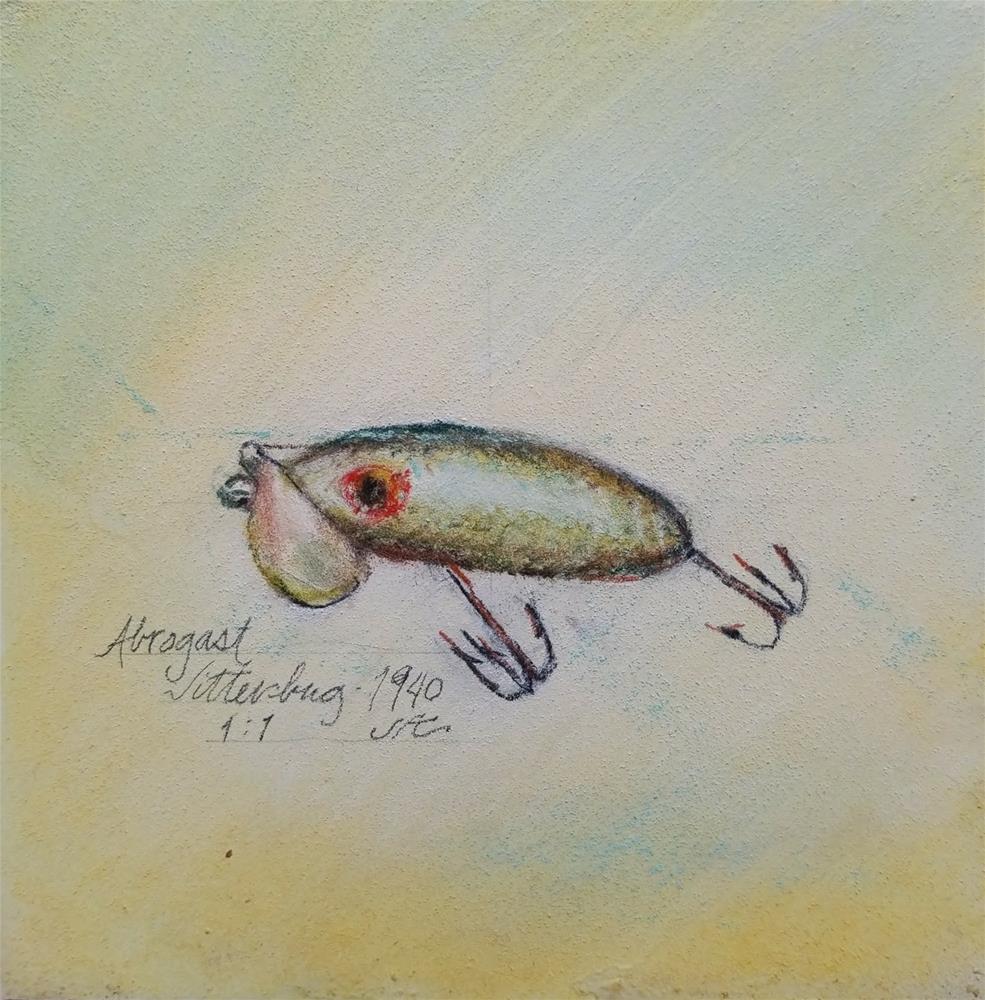 """""""Abrogast Jitterbug - 1940"""" original fine art by Jean Krueger"""