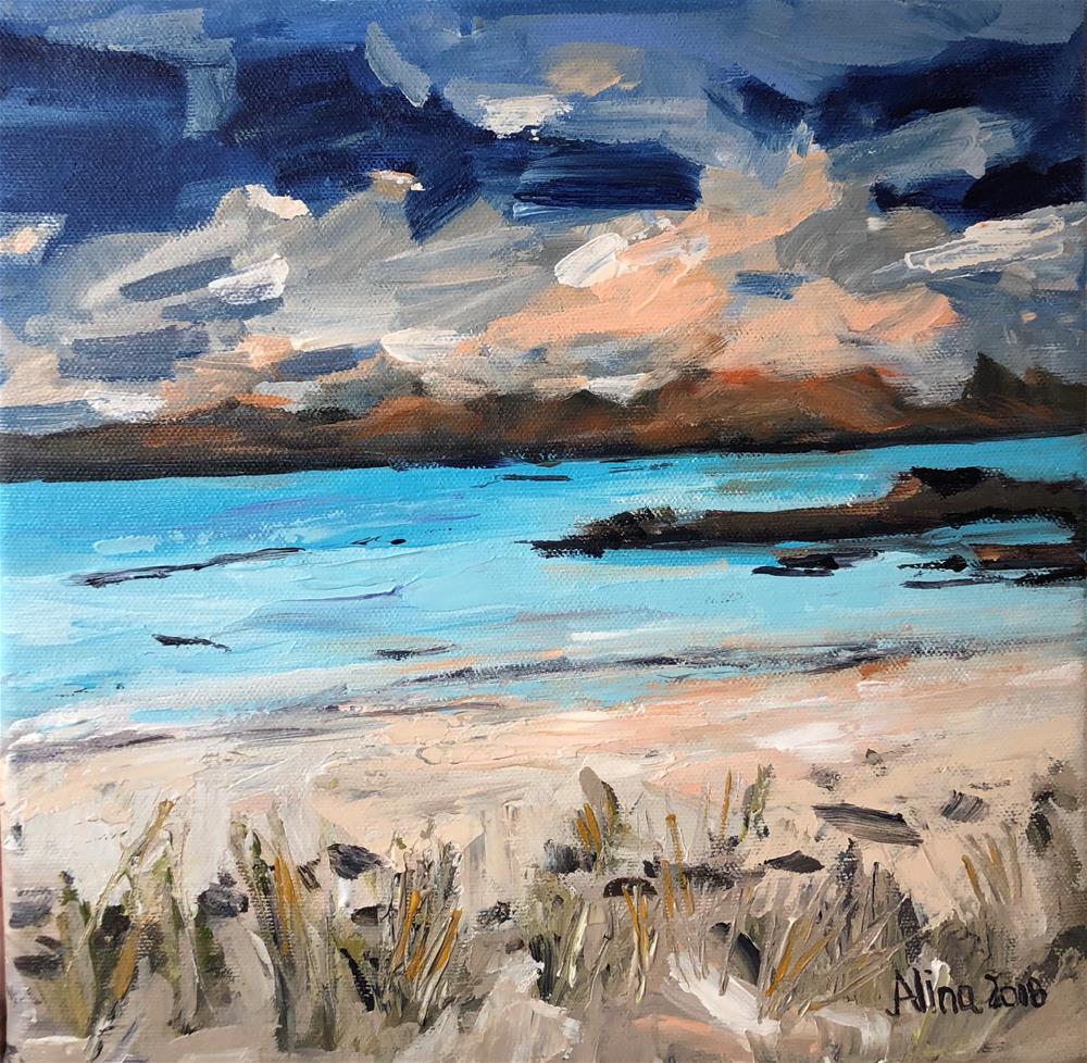"""""""Isle of Harris"""" original fine art by Alina Vidulescu"""