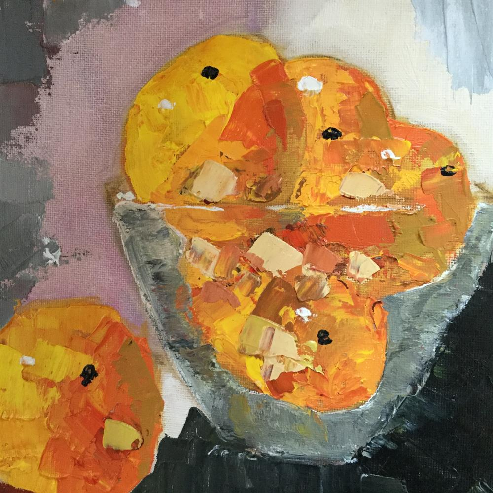 """Breàkfast in Palm Beach II"" original fine art by pamela kish"