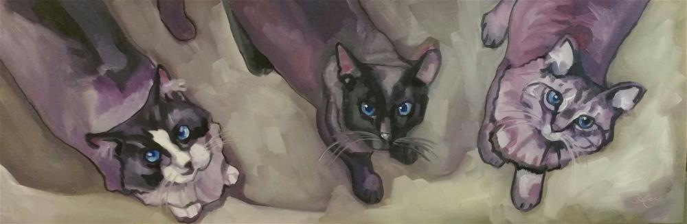 """Focus"" original fine art by Leni Tarleton"