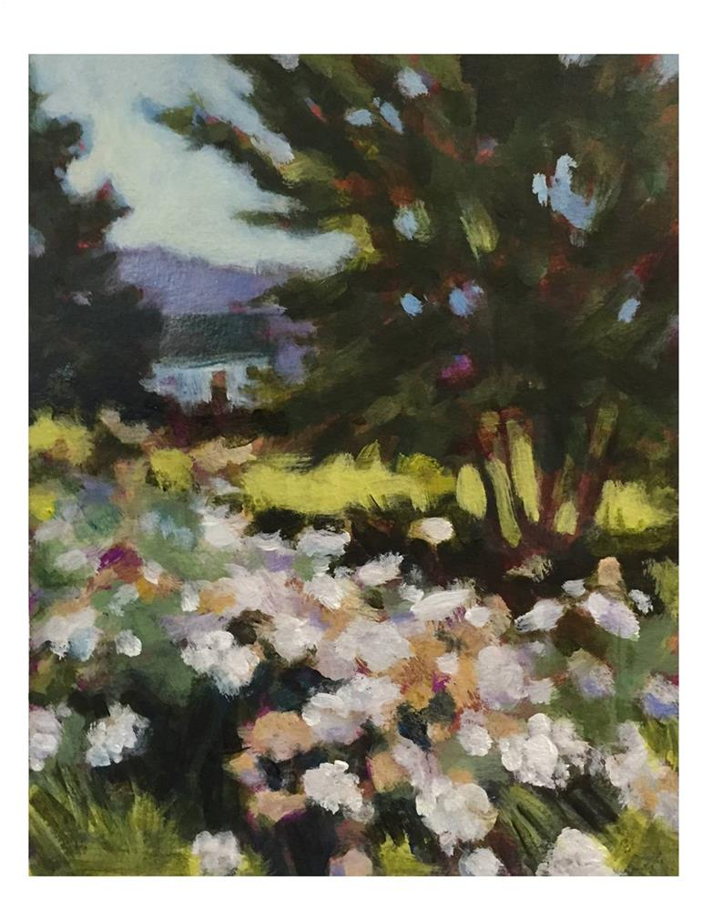 """""""Monhegan Dreaming On A Winter's Day"""" original fine art by Suzanne Woodward"""