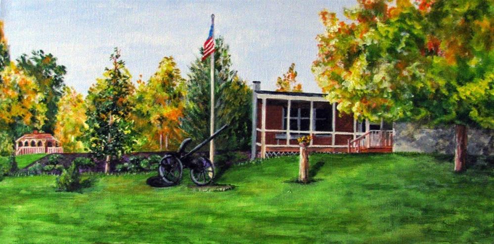 """Overall View"" original fine art by Nan Johnson"