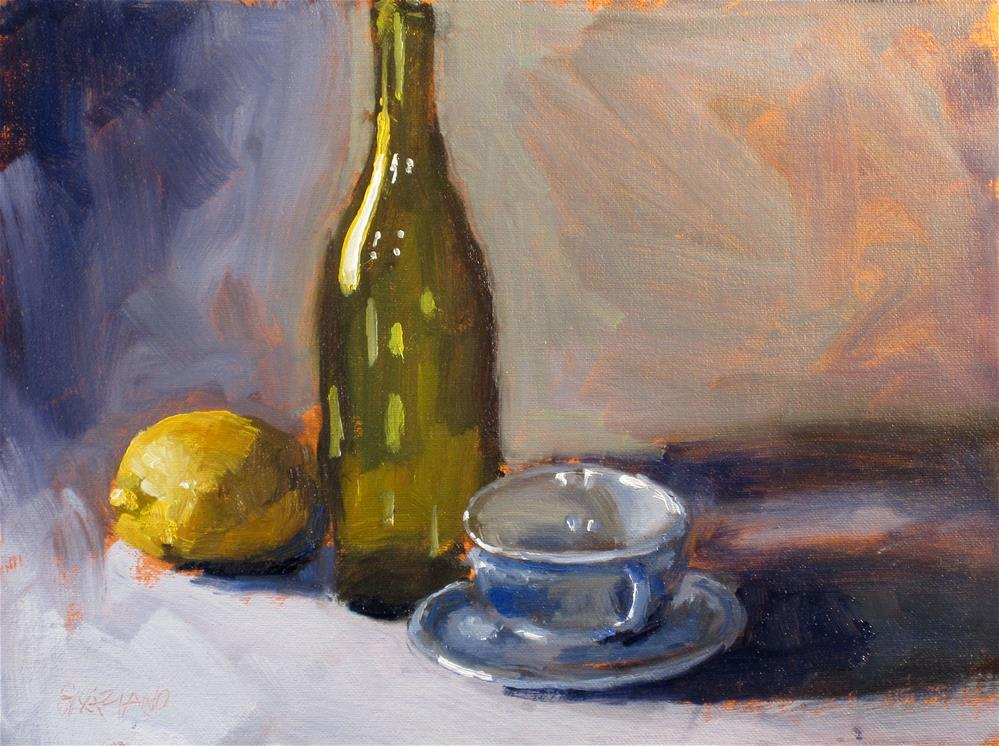 """bottle and company"" original fine art by Dan Graziano"