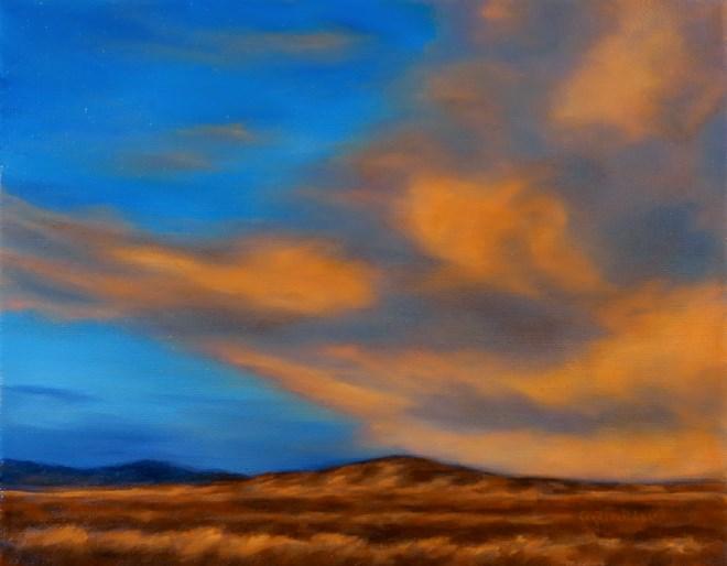 """Golden Take Over"" original fine art by Carol Zirkle"