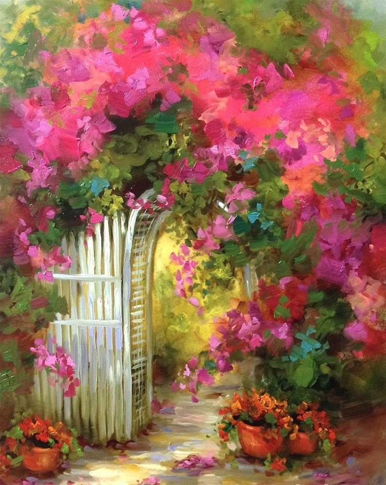 """""""Paint With Me Online ~ Painting Brilliant Colors Grand Opening"""" original fine art by Nancy Medina"""
