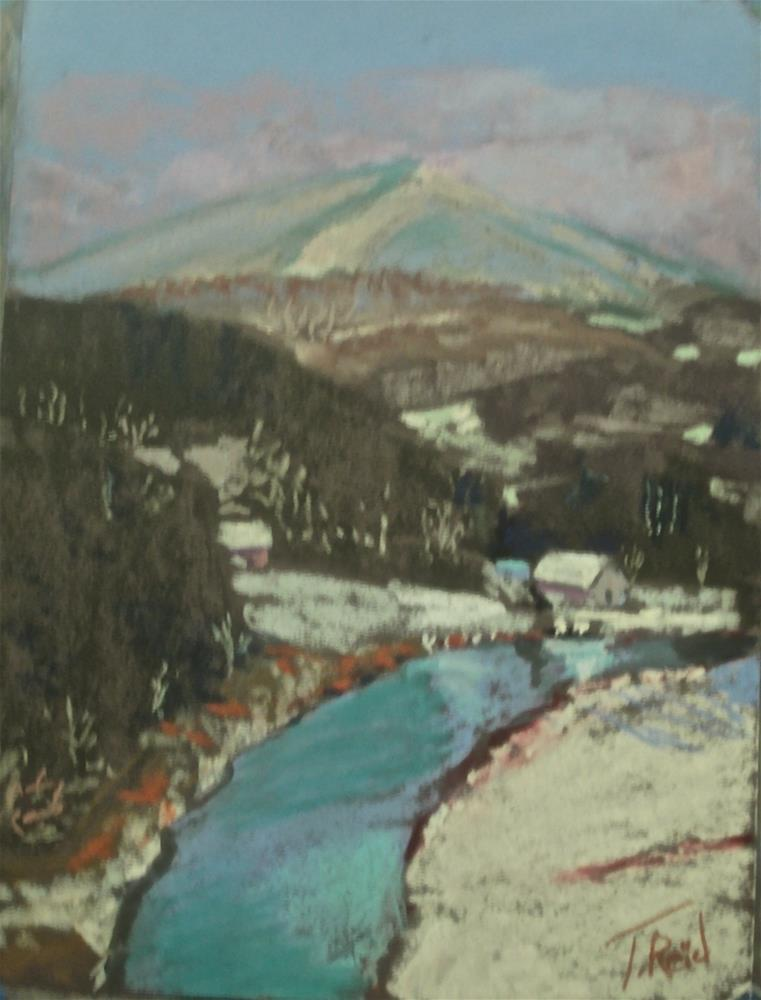 """""""The Gale's Mountain View"""" original fine art by Toby Reid"""