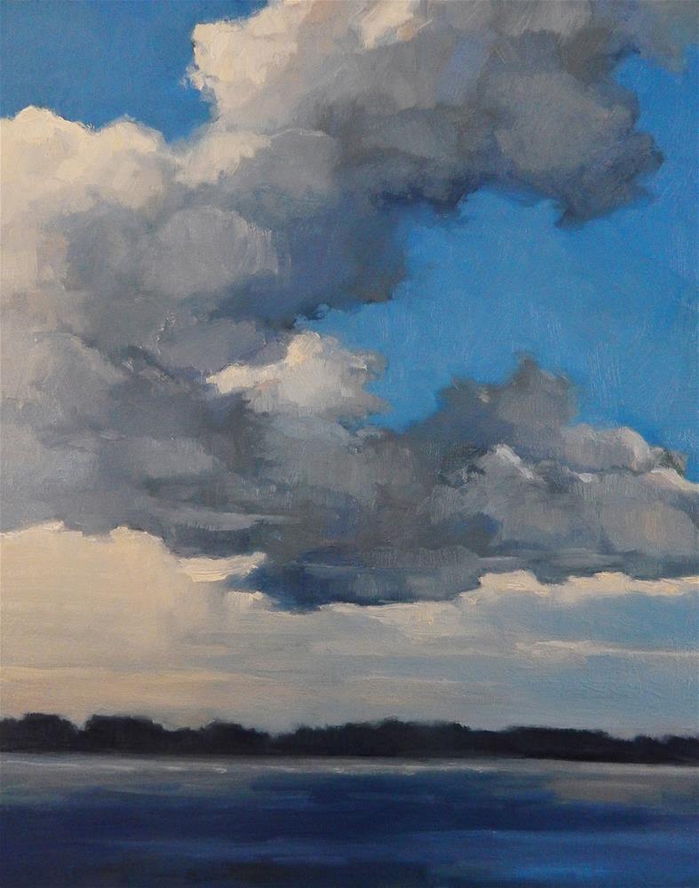 """""""Breaking Clouds"""" original fine art by Lisa Kyle"""
