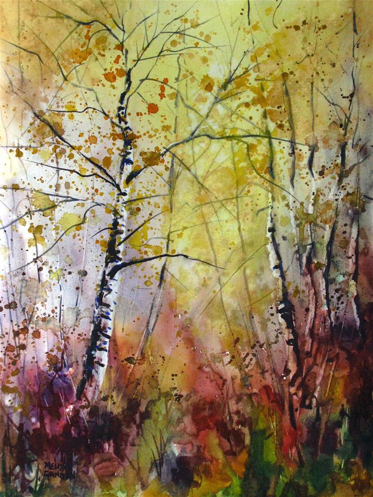 """Woodland Mysteries"" original fine art by Melissa Gannon"
