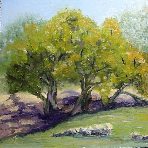 """""""Hints of Fall"""" original fine art by Jane Frederick"""