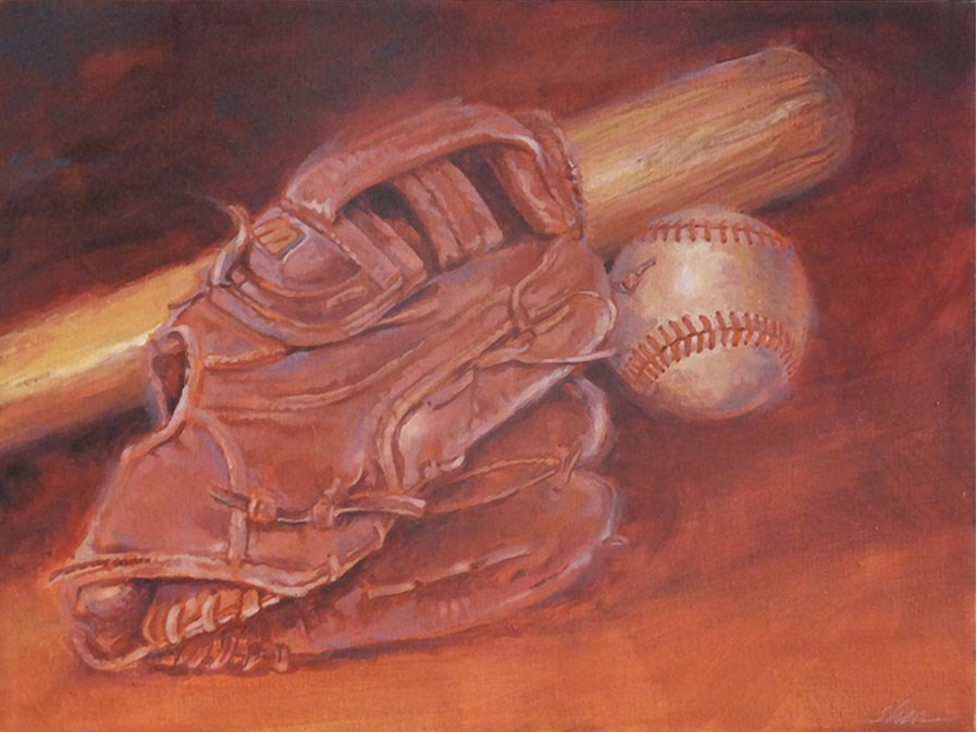 """Retired The Side"" original fine art by Shawn Shea"
