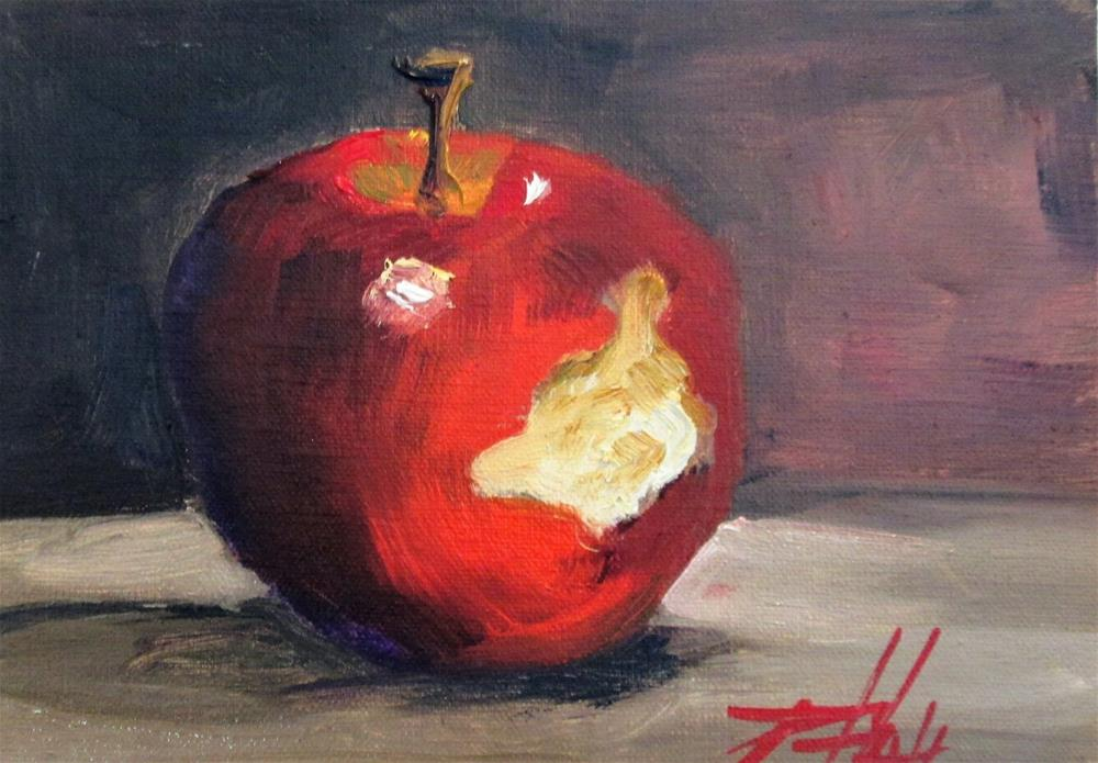 """100 Apples Series No3"" original fine art by Delilah Smith"