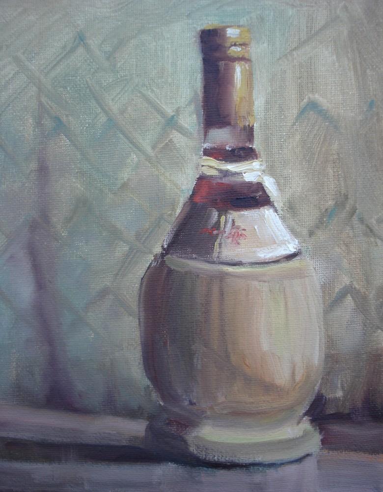 """Vino"" original fine art by Margie Whittington"