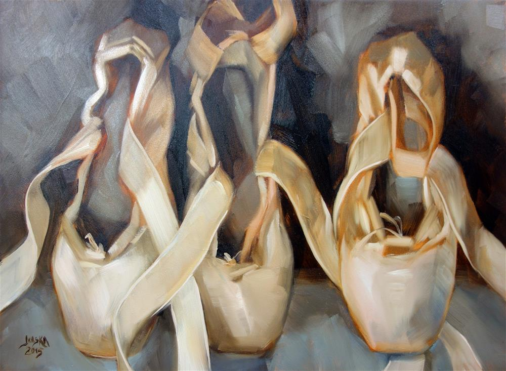 """Three Odd Pointes"" original fine art by Elaine Juska Joseph"