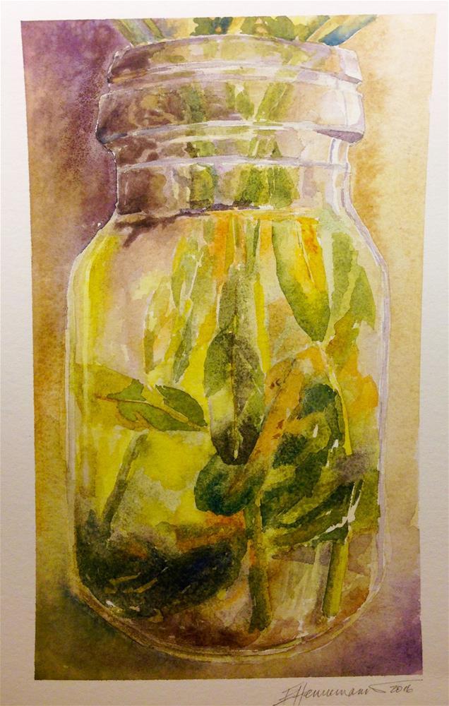 """""""Jar"""" original fine art by Eileen Hennemann"""
