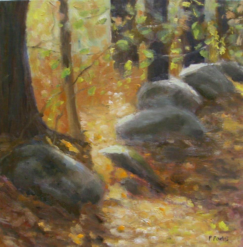 """A Walk in the Woods"" original fine art by Patricia J. Powers"