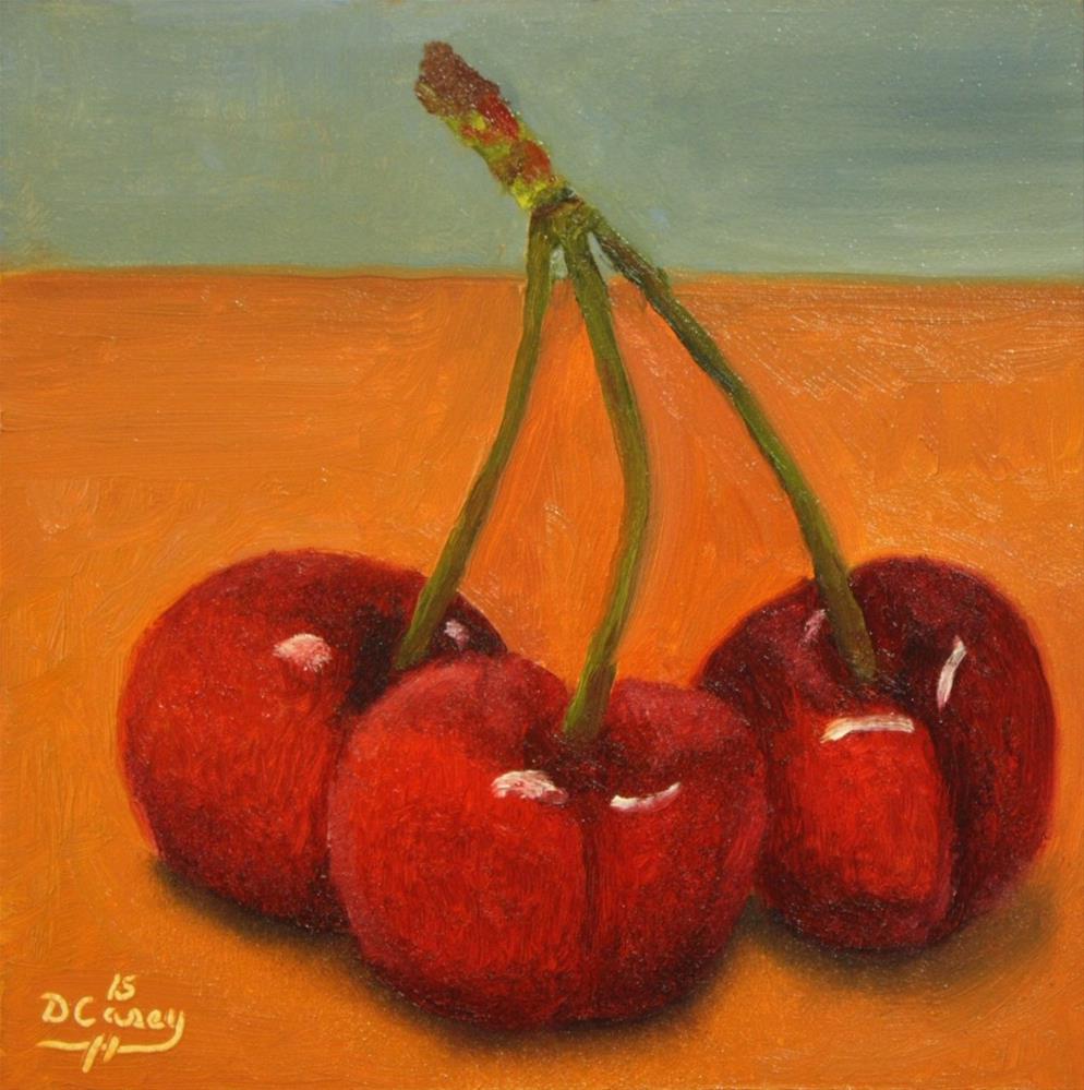"""""""Cherries 005"""" original fine art by Dave Casey"""