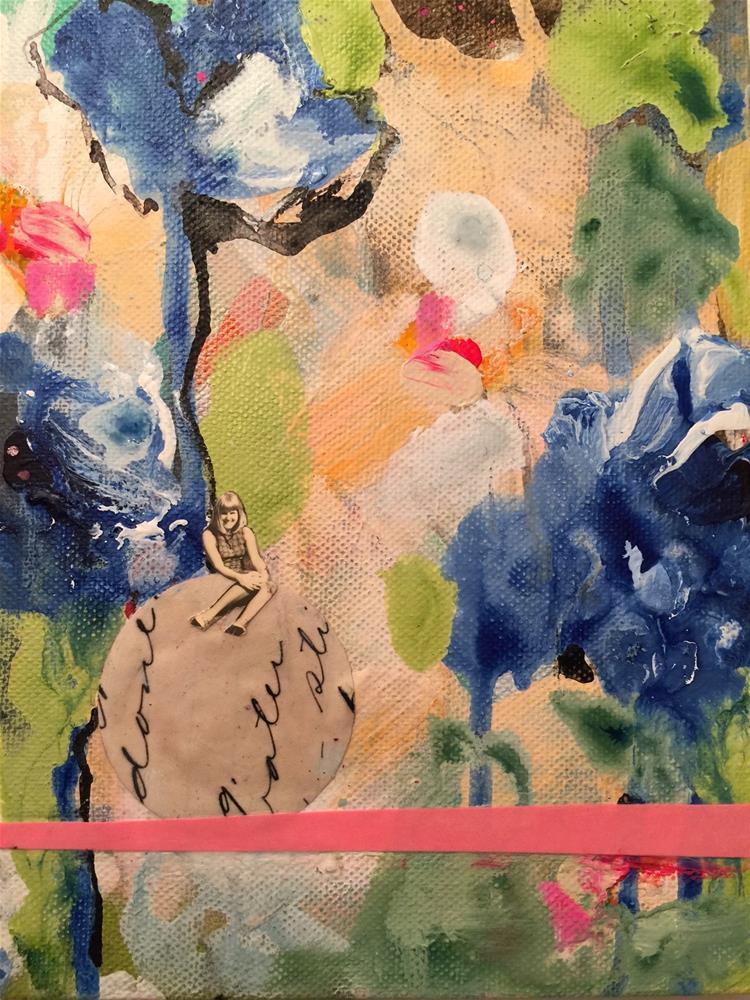 """173 All Done"" original fine art by Jenny Doh"