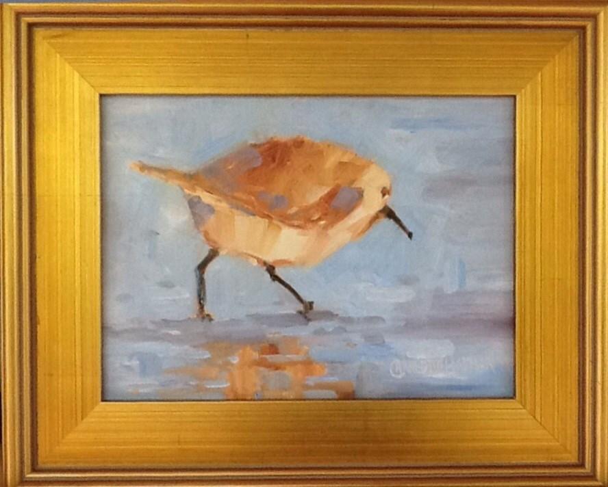 """SANDPIPER"" original fine art by Charlotte Bankhead Hedrick"