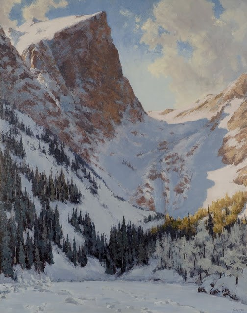 """DREAM LAKE"" original fine art by James Coulter"
