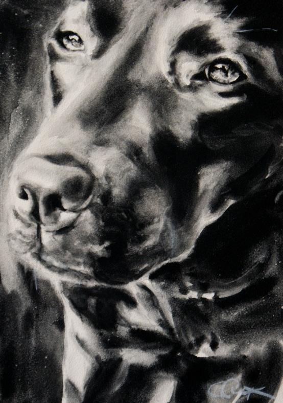 """Trust"" original fine art by Crystal Cook"