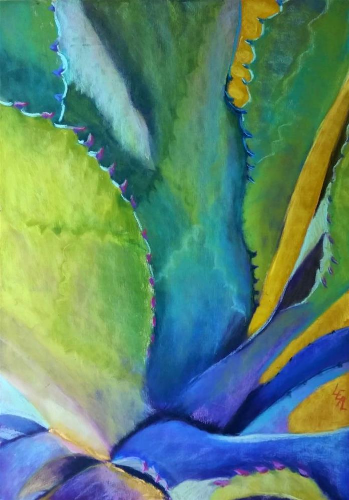 """Ghost Leaves"" original fine art by Anna Lisa Leal"