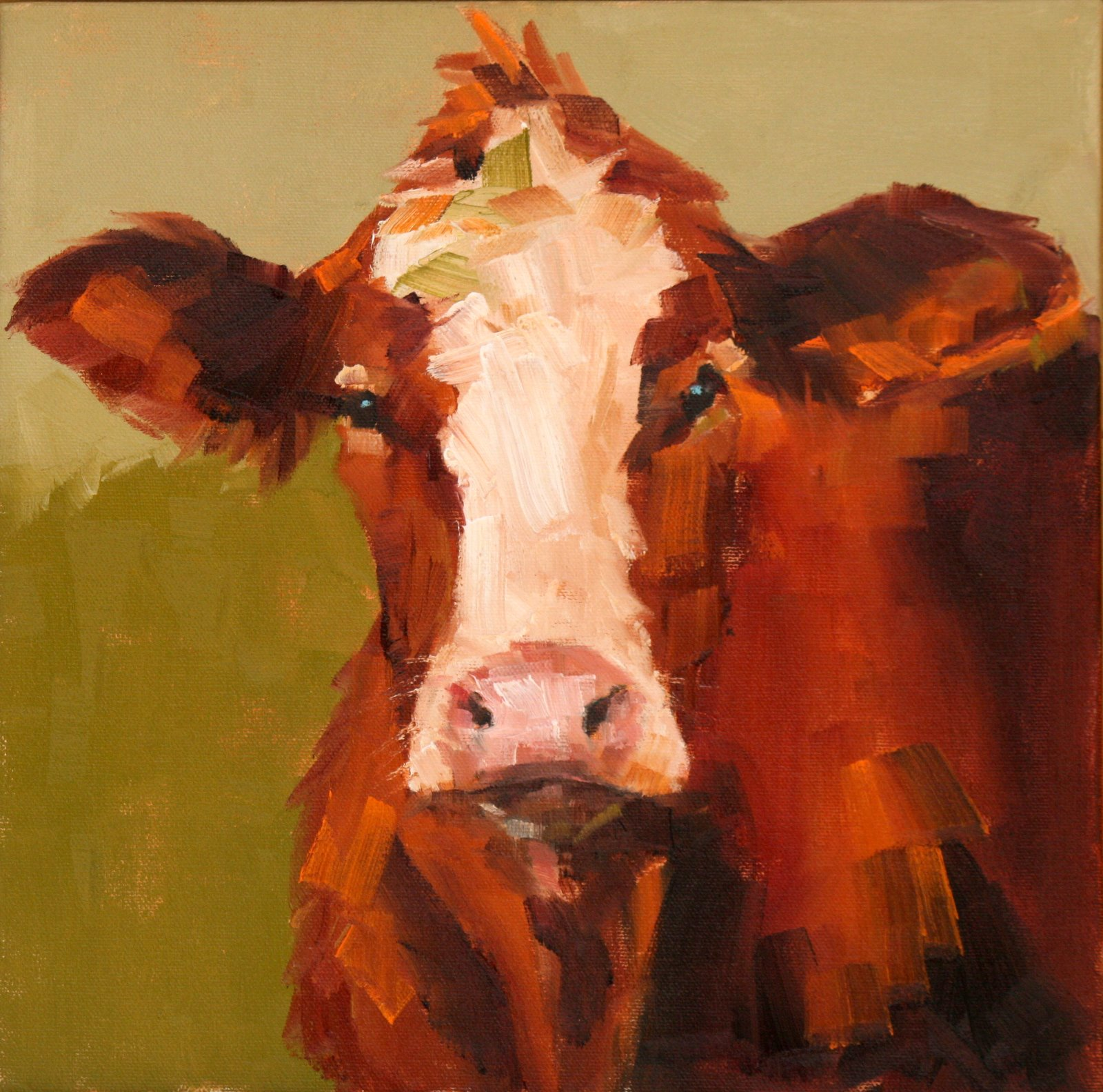 """""""What are you looking at?"""" original fine art by Carol Carmichael"""
