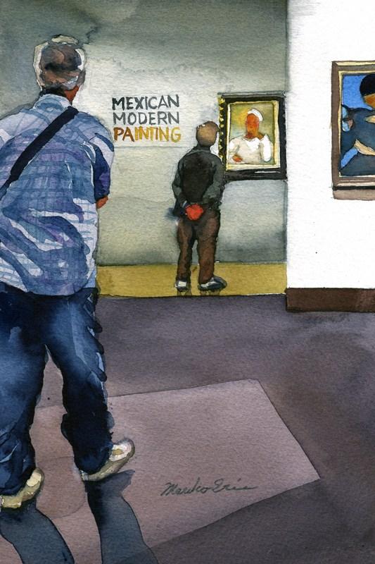 """Modern"" original fine art by Mariko Irie"