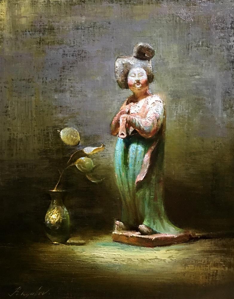 """Empress"" original fine art by Regina Lyubovnaya"