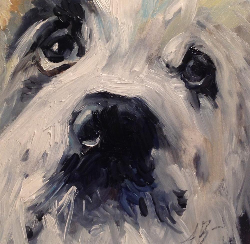"""Freckles"" original fine art by Annette Balesteri"