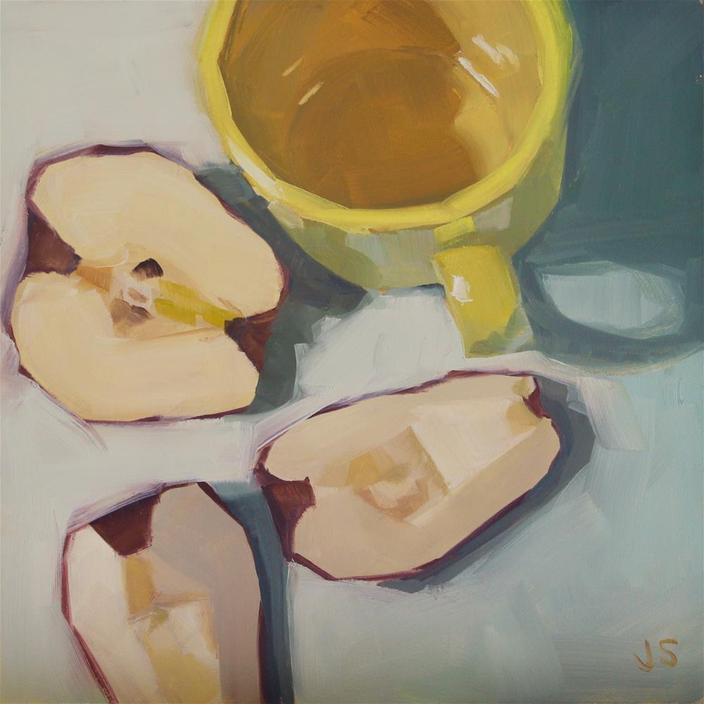 """Yellow Cheer"" original fine art by Jamie Stevens"