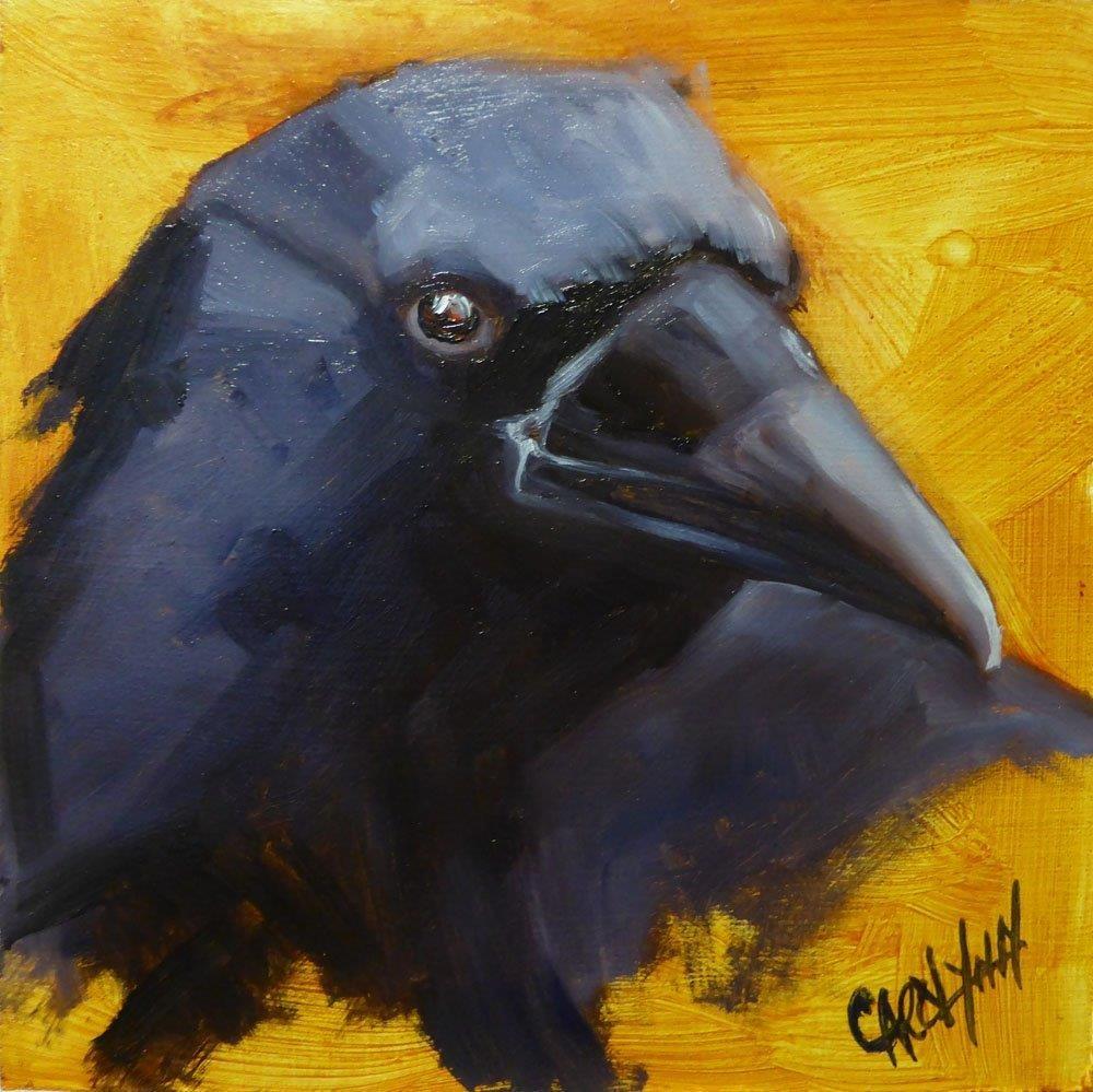 """""""George 2"""" original fine art by Carolynn Doan"""